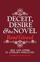 Deceit, Desire, and the Novel