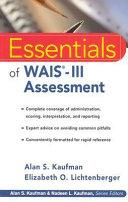 Essentials of WAIS -III Assessment