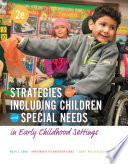 Strategies For Including Children With Special Needs In Early Childhood Settings Book PDF