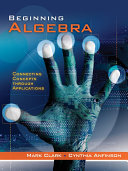 Beginning Algebra  Connecting Concepts Through Applications