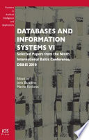 Databases and Information Systems VI