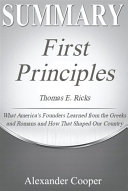 Summary of First Principles