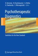 Psychotherapeutic Diagnostics