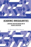 Academic Irregularities