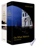 """On What Matters: Two-volume set"" by Derek Parfit"