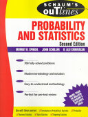 Schaum s Outline of Theory and Problems of Probability and Statistics