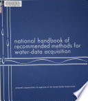 National Handbook of Recommended Methods for Water data Acquisition Book