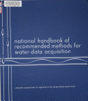 National Handbook of Recommended Methods for Water-data Acquisition