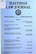 Hastings Law Journal