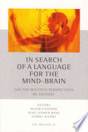 In Search of a Language for the Mind-brain