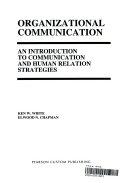 Organizational Communication Book PDF