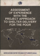 Assessment of Experience with the Project Approach to Shelter Delivery for the Poor