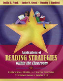 Applications of Reading Strategies Within the Classroom Book PDF