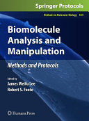 Micro and Nano Technologies in Bioanalysis Book