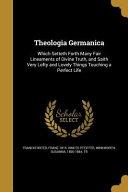 THEOLOGIA GERMANICA Pdf/ePub eBook