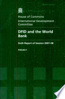 DFID and the World Bank