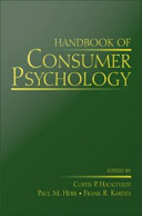 Handbook Of Consumer Psychology
