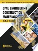 Civil Engineering Construction Materials Book