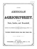 Pdf The American Agriculturist