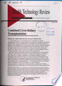 Combined Liver kidney Transplantation