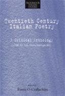Twentieth-century Italian Poetry