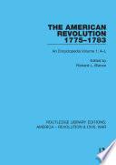 The American Revolution 1775   1783