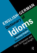 English German Dictionary of Idioms