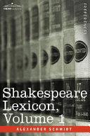 Shakespeare Lexicon Pdf/ePub eBook