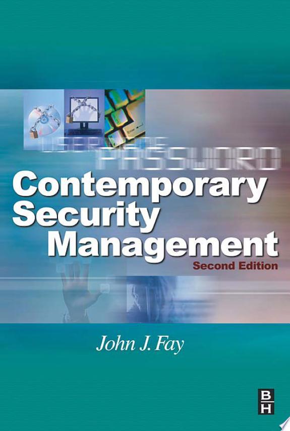 Contemporary Security Management