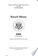 Public Papers of the Presidents of the United States  Barack Obama