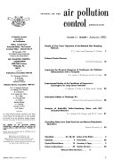 Journal of the Air Pollution Control Association Book