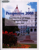 Perspective      an Overview of Major Legislative Issues
