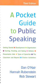 A Pocket Guide to Public Speaking  With Access Code