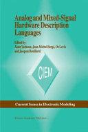 Analog and Mixed Signal Hardware Description Language