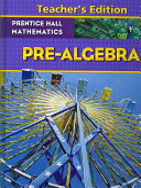 Prentice Hall Mathematics, Pre-Algebra