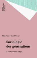 Sociologie des générations Pdf/ePub eBook