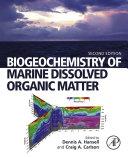 Pdf Biogeochemistry of Marine Dissolved Organic Matter