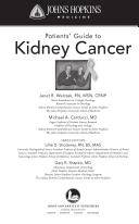 Johns Hopkins Patients Guide To Kidney Cancer Michael A Carducci Janet R Walczak Google Books