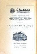 Bibliothèques et musées de la ville de Neuchâtel