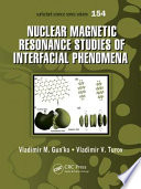 Nuclear Magnetic Resonance Studies of Interfacial Phenomena Book