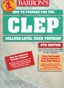 How to Prepare for the CLEP  College Level Examination Program General Examinations