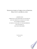 Neuroanatomical Correlates of Emotion Reactivity and Regulation