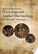 Proceedings of 9th Euro Global Summit on Toxicology and Applied Pharmacology 2017