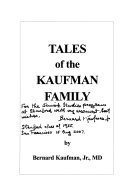 Tales of the Kaufman Family Book PDF
