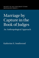 Marriage by Capture in the Book of Judges