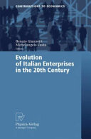 Evolution of Italian Enterprises in the 20th Century