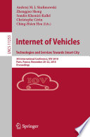 Internet of Vehicles. Technologies and Services Towards Smart City