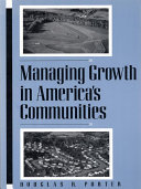 Managing Growth in America's Communities