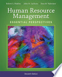 Human Resource Management  Essential Perspectives Book
