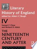 A Literary History Of England